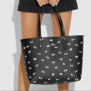 Coach Disney X Snow White Spooky Eyes Tote